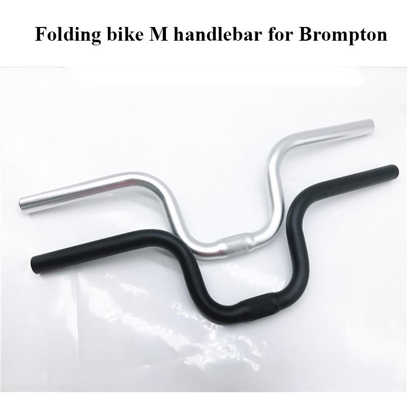 Bike Handle Bar Cycling Bicycle Fixed Gear Folding Bike Handlebar 520mm Parts