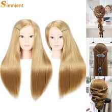 70cm 100% de alta temperatura firber cabeleireiro colorido cabeças boneca cabelo bom cabeleireiro formação cabeça manequim manequim cabeça