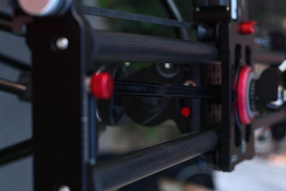 ASHANKS Bluetooth cámara de carbono deslizamiento seguimiento enfoque motorizado Control eléctrico retardo deslizador carril de la pista para la fotografía de Timelapse - 2