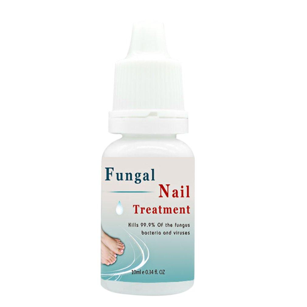 100% Plant Extracts Feet Care Nail Treatment Liquid Fungal Ringworm Removal YS