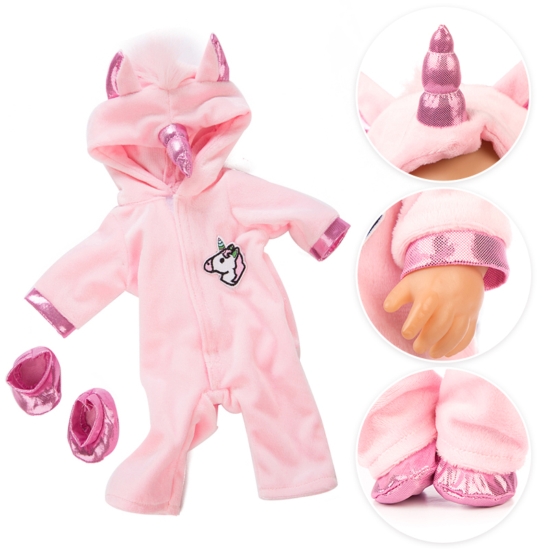 17 Inch 40 Cm New Born Baby Dolls Rompers Bebe Doll Clothes Accessories Baby Girl Birthday Gift