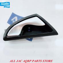 6105240U8010 prawy przedni drzwi wewnętrzne uchwyt dla JAC J3 wysokiej jakości auto części wewnętrzne podłokietnik samochdoowy tanie tanio handle plastic FRONT China black