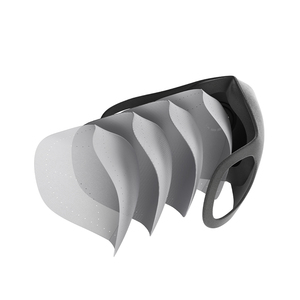 Image 3 - Yeni Xiaomi Mijia Smartmi filtre maskesi bloğu 97% ile PM 2.5 havalandırma vana uzun ömürlü TPU malzeme filtre maskesi akıllı ev