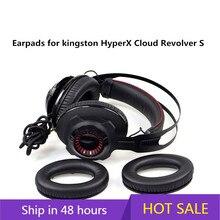คุณภาพสูงโฟม EAR Pads สำหรับ Kingston HyperX CLOUD Revolver S หูฟังหูฟัง 10.15