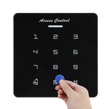 Door Access Control Password RFID Card Reader Door Access Controls Contactless Controller Keypad System With ID Card cards code card code waterproof rfid card door access controller keypad with backlight security door access control