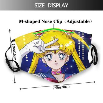 Mascarilla facial de Sailor Moon Mascarillas de Anime Sailor Moon
