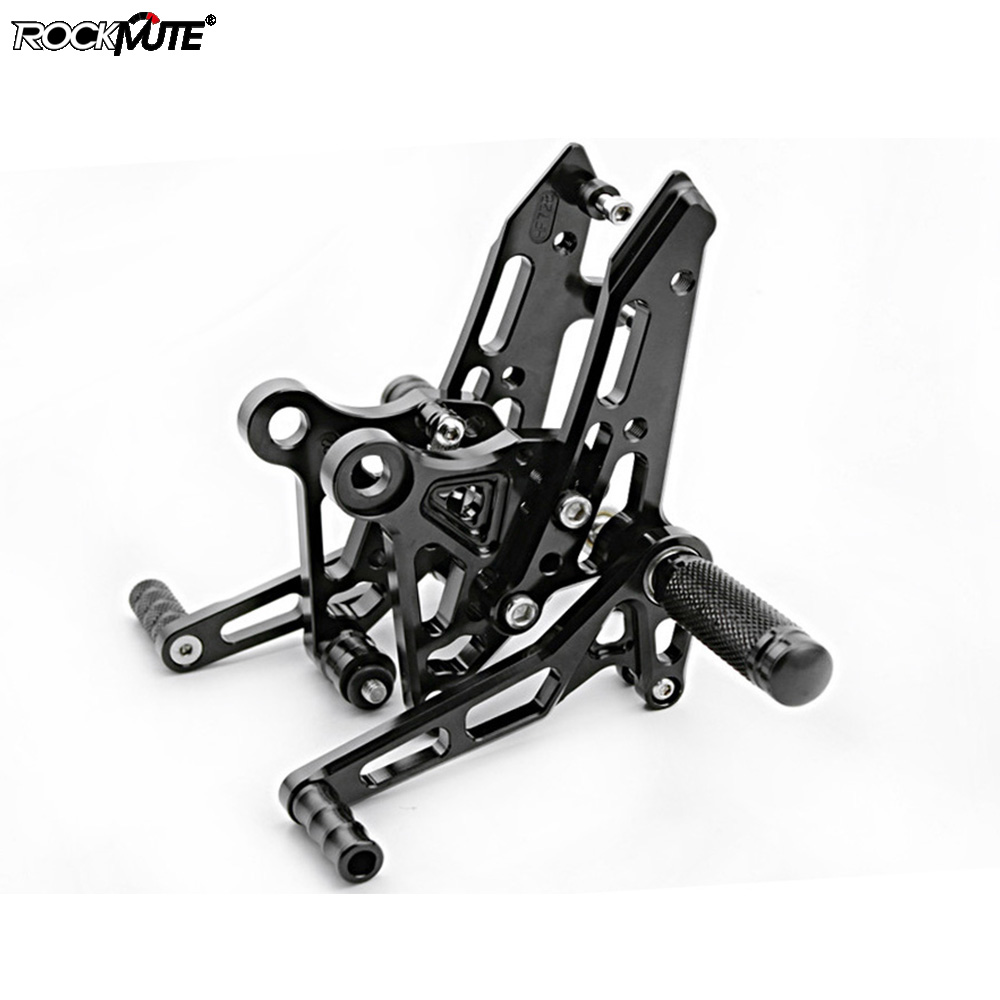 Motorcycle Adjustable <font><b>Rearset</b></font> For Honda <font><b>MSX125</b></font> 2013 2014 2015 2016 2017 Footrests Driver Foot Rest Pegs Pedals Rear Set image