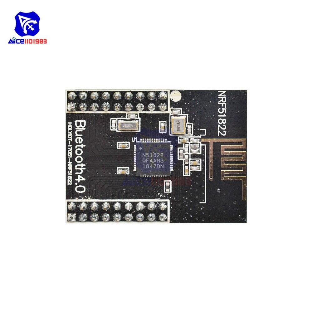 Diymore NRF51822 Bluetooth 4,0 Wireless Modul CORE51822 2,4 GHz Wireless Expansion Board für Arduino