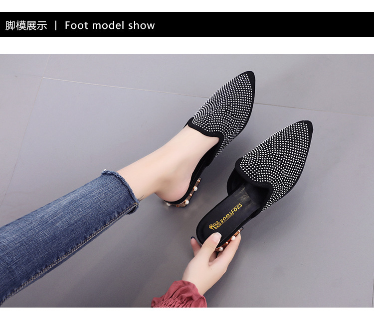 ClowMMM Womens Sandals /& Slippers Breathable Casual Leather Womens Shoes Non-Slip Shoes