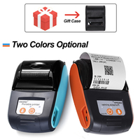 Free SDK 58mm Portable Mobile Bluetooth Printer Wireless Bluetooth Mini Thermal receipt Printer Support Android iOS phone