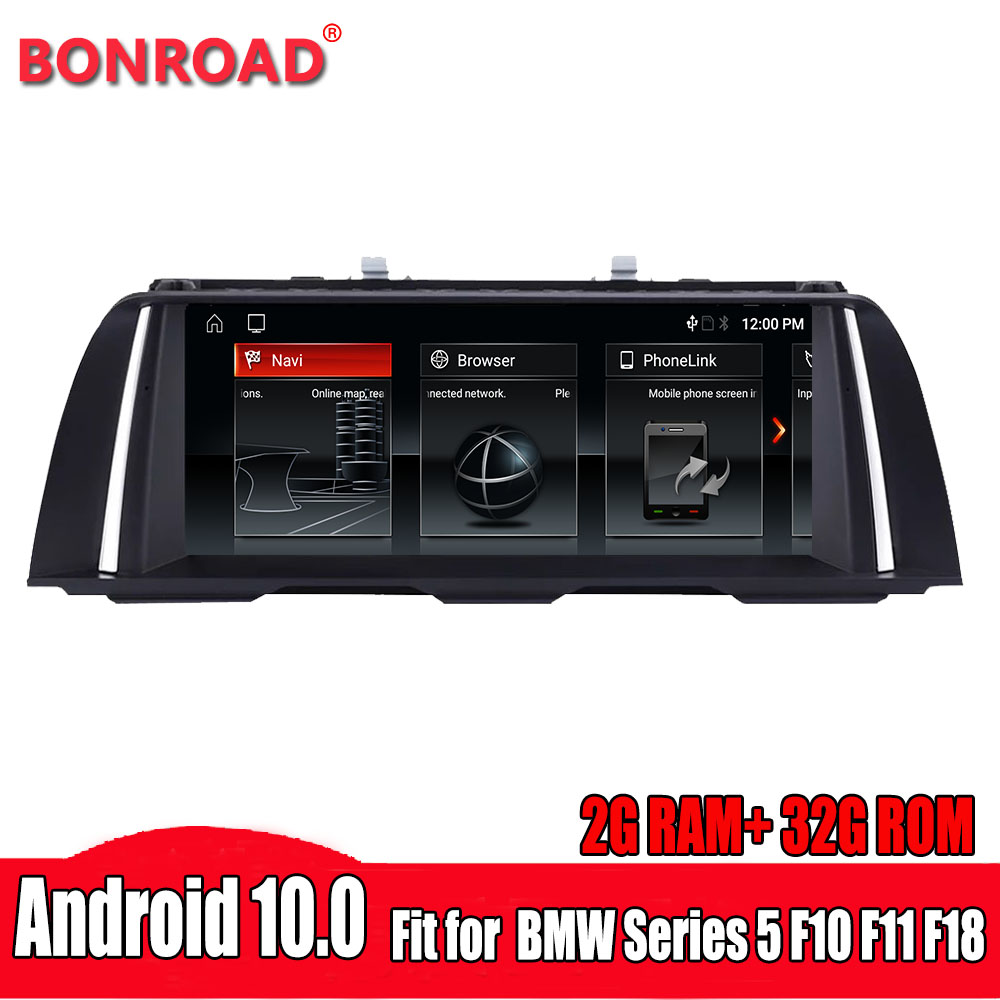 Bonroad 10.25 inch Android 10.0 car dvd for BMW 5 Series F10 F11 520i 525i 528i 2011-2016 CIC NBT GPS Navigation Multimedia(China)