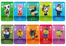 New Amiibo Card NS Game Series 1 (081 to 120) Animal Crossing Card Work for