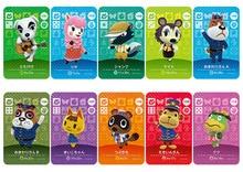 Novo amiibo cartão ns série de jogos 1 (081 a 120) cartão de cruzamento animal trabalho para