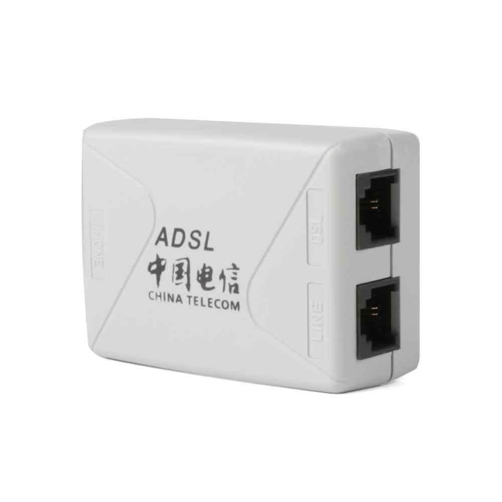RJ-11 ADSL מודם פס רחב טלפון קו ספליטר מסנן 1/5pcs כדי לבחור באיכות גבוהה #257