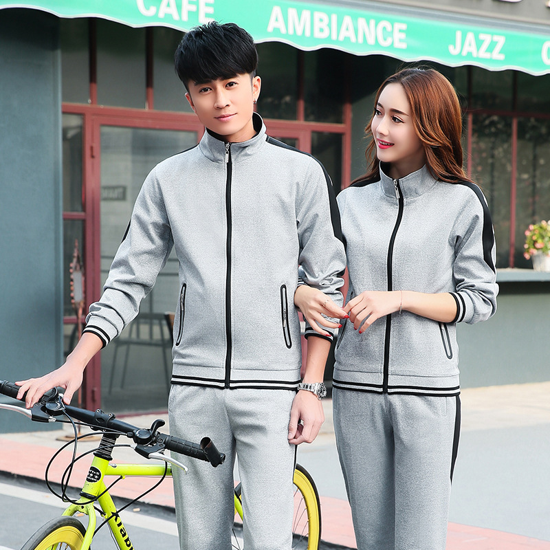 Spring And Autumn Sports Clothing Set Long Sleeve Casual Men And Women Coat Primary School Student's School Uniform