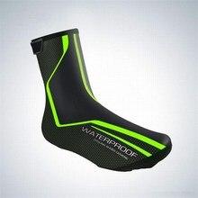 DICSHKI Cycling Shoe Cover Reflective Waterproof Windproof Warm Covers Bicycle Overshoes MTB Bike Road Ciclismo Boot
