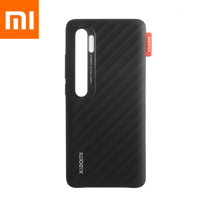 Original Xiaomi Mi Note 10,Mi Note 10  Pro Simple Striped Case Xiomi CC9 Pro Phone Durable Environmental Protection PC Material