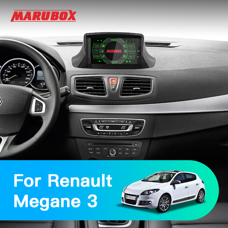 Image 2 - Marubox KD7237 DSP, 64 GB, Head Unit for Renault Megane 3, Car Multimedia Player, Android 9.0Car Multimedia Player   -