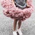 Новинка; юбка -пачка для маленьких девочек; юбка -американка для балерины; пышные Детские вечерние балетные юбки для танцев; фатиновая одежд...
