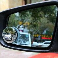360 graus de vidro que gira a vista traseira pequeno espelho redondo grande campo de visão que inverte as peças de automóvel do espelho do ponto cego auxiliar
