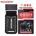 Kingbolen obd диагностический elm 327 Pic18f25k80 чип мини elm327 WiFi BT OBDII V1.5 считыватель кодов obd 2 elm 327 Wifi сканер