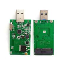 MSATA к USB 3,0 mSATA SSD адаптер карта в качестве usb-диска