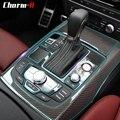 Для Audi C7 S6 2012-2016 автомобильный Стайлинг невидимая прозрачная центральная консоль приборная панель переключения передач защитная пленка ак...