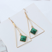 Tassel Earrings Earings Brincos Original Fashion Geometric Triangle Joker Article Promotion Classic Stainless Steel Women