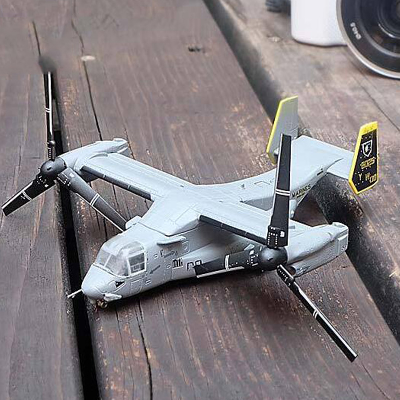 Boeing Bell Osprey V22 1/144 Scale Helicopter Aircraft Airplane Models Adult Children Toys Display Show Collections Gifts image