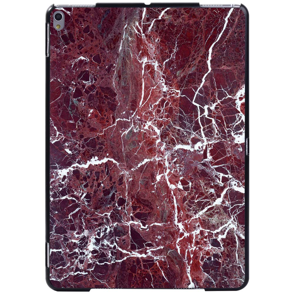 white vein in red Ivory For Apple iPad 8 10 2 2020 8th 8 Generation A2428 A2429 Slim Printed Marble tablet