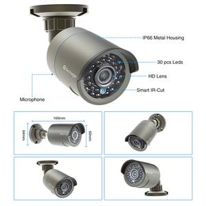 Image 2 - Techage 1080P 48V POE IP Camera Onvif Security CCTV Surveillance Camera 2MP Outdoor IR Night Vision HD Camera for POE System P2P