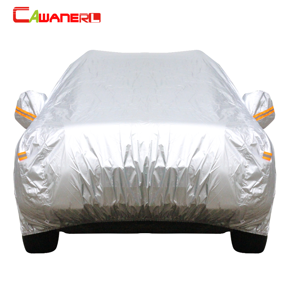 Heavy Duty SUV Car Cover Waterproof Dust Scratch UV Protection For Peugeot 3008