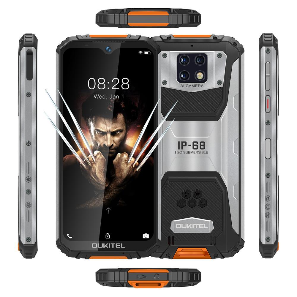 """Oukitel-wp6-6-3-19-5-9-telefone-m-vel-mt6771t-octa-prova-de-choque-poeira Oukitel sorteia """"celular indestrutível"""" WP6, veja como participar!"""