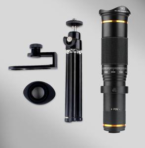 Image 5 - 38X Zoom teleobiektyw HD monokularowy teleskop telefon obiektyw aparatu dla IPhone 11 Xs Max XR Samsung Android Smartphone Mobile