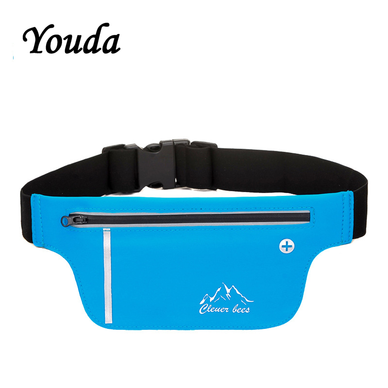 Youda Casual Sports Pockets Yoga Fitness Pocket Outdoor Running Waist Bag Marathon Supplies Waterproof Mobile Delicate Bale
