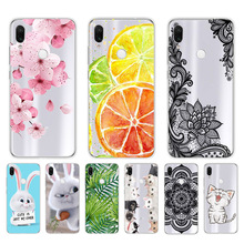 6.3'' For Xiaomi Redmi Note 7 Case Glass Back Hard Cover For Xiaomi Redmi Note 7 Case Note7 Soft Bumper Tempered Cases Note 7S srhe for xiaomi redmi note 7 pro case cover note 7s vintage cloth fabric soft silicone full back cover for redmi note 7s note7