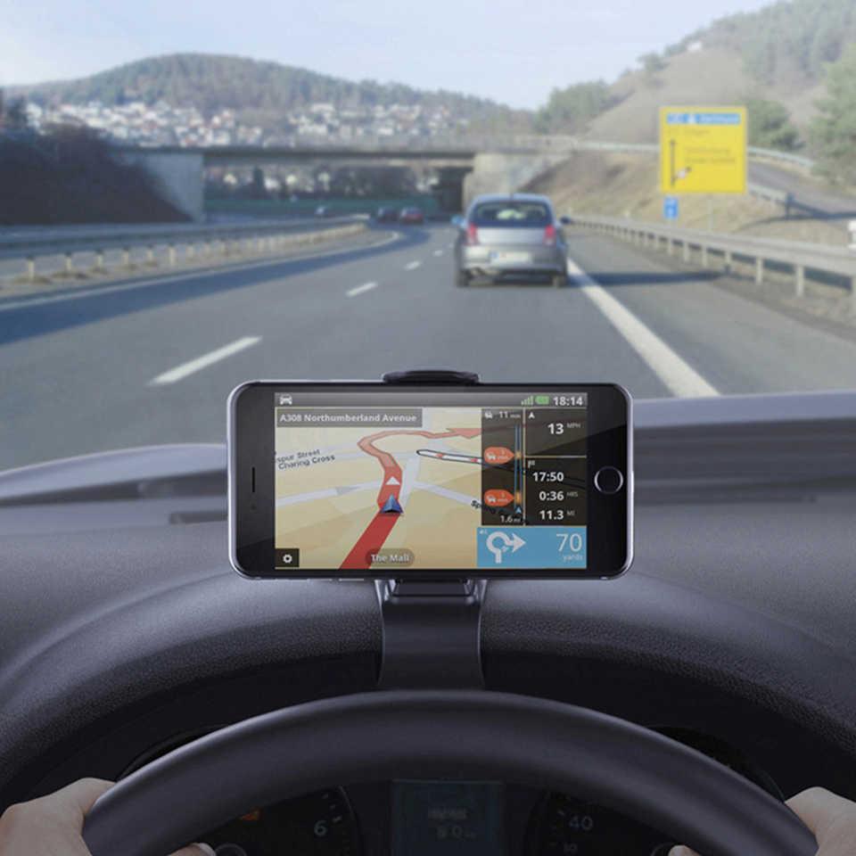 Support pour téléphone de voiture universel 360 support de support de montage pour téléphone portable dans la voiture GPS support de tableau de bord pour iphone Xiaomi Samsung supports