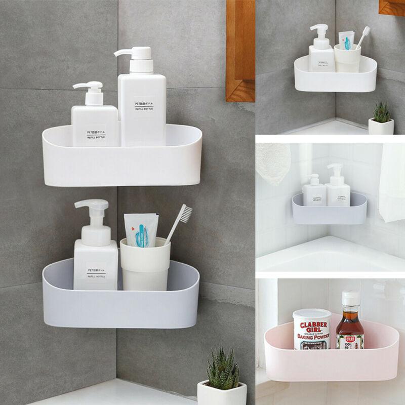 Triangular Shower Shelf Rack Kitchen