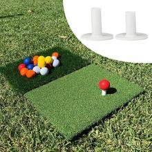 38 мм 50 мм 1 шт. Гольф мяч футболка гольф вождение дальность футболка гольф уход крестообразный открытый практика инструмент N6R7 отверстие белый дизайн Y3P2