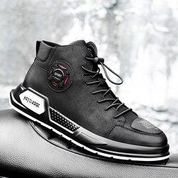 Zapatos de hombre moda Otoño calzado de cuero genuino para hombre nuevos zapatos casuales con cordones de alta calidad Hombre Zapatos Zapatillas de hechos a mano k3