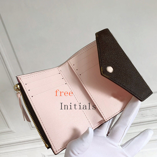 100% Genuine Leather Women Wallet Card Holder Master Design Wallet Comes With Gift Box And Dust Bag With Serial Number