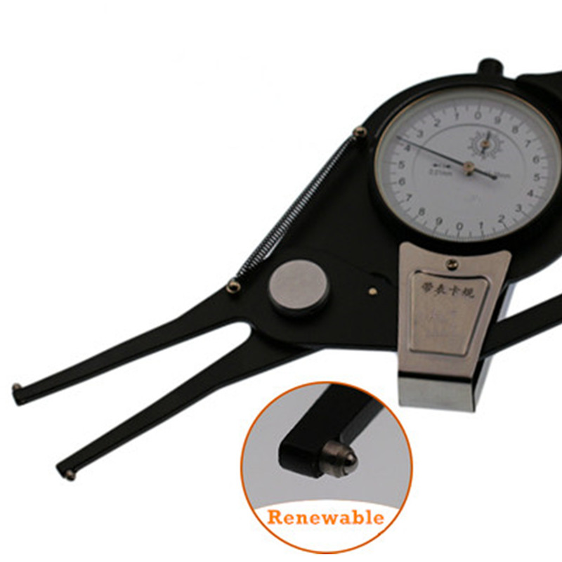 Internal dial caliper gauge 5-25, 55-75-95, 135-155, 255-275, 335-355 precision metric inside callipers digital measuring tool (4)