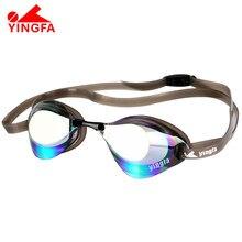 2020 novo esporte profissional das mulheres dos homens anti-nevoeiro óculos de proteção uv natação chapeamento espelhado natação óculos à prova dwaterproof água