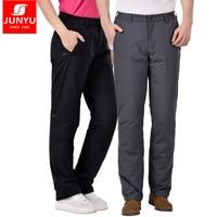 Men 'S pants goose пуху with heavy weight 800FP, warm, women waterproof and windproof