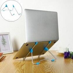 Verstelbare Draagbare Folding Stand Tablet Top Laptop Tablet Stand Anti-skid Hoek Hoogte Beugel Houder voor Notebook Home Office
