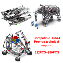 Building-Block Robots Programming-Series EV3 High-Tech Education STEAM The with Graphical