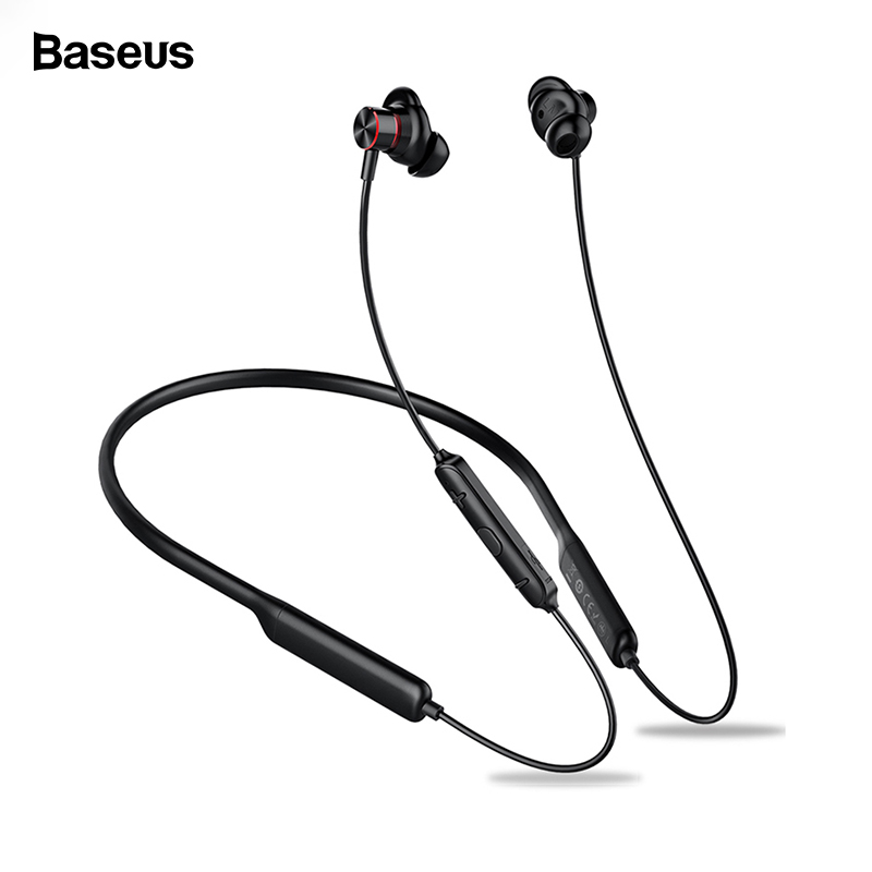Baseus S12 Wireless Earphone For Phone iPhone Xiaomi Bluetooth 5.0 Headphone Handsfree Wireless Headset Earbud Earpiece With Mic-in Bluetooth Earphones & Headphones from Consumer Electronics on AliExpress