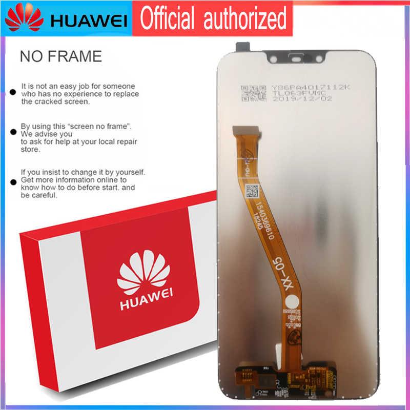 Ban Đầu 6.3 ''Màn Hình Hiển Thị Có Khung Thay Thế Cho Huawei Mate 20 Lite Màn Hình Cảm Ứng LCD Bộ Số Hóa Mate20 Lite