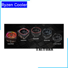AMD Ryzen الريث برودة مروحة الأصلي الجديد 4 دبوس يمكن أن تدعم R3 R5 R7 R9 وحدة المعالجة المركزية يمكن أن تدعم المقبس AM4 اللوحة الأم