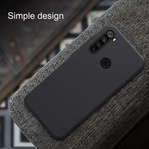 Image 2 - Nillkin Frosted Case + Volledige Overdekte Gehard Glas Voor Xiaomi Redmi Note 8T Case Met Screen Protector Volledige Dekking film 8T